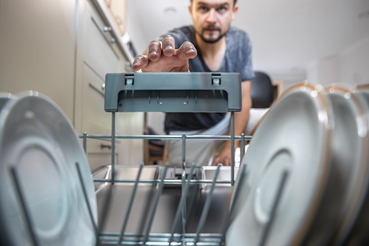 Pull-out Ladder Kitchen